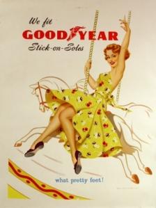 Goodyear Soles - Carousel, 1950s