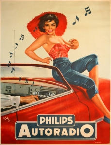 Philips Autoradio 1950s