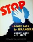 Stop loose talk