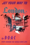 London by BOAC