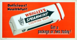 Wrigley's Spearmint Gum