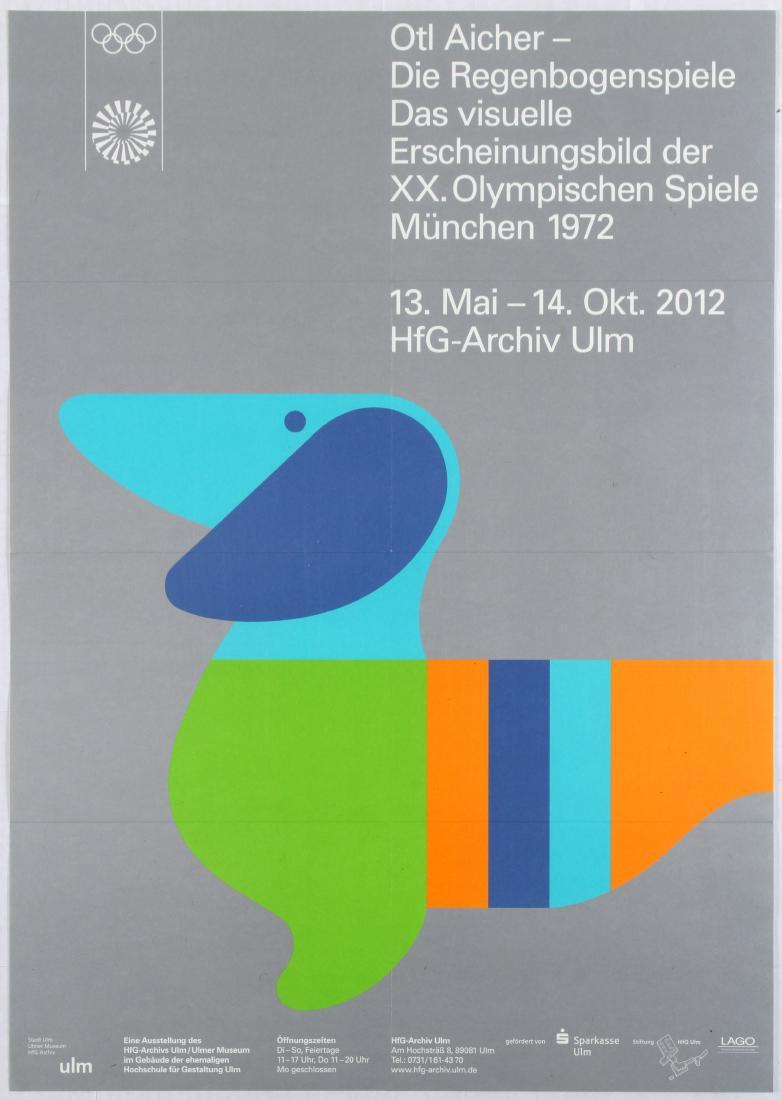 Olympics Dachshund dog