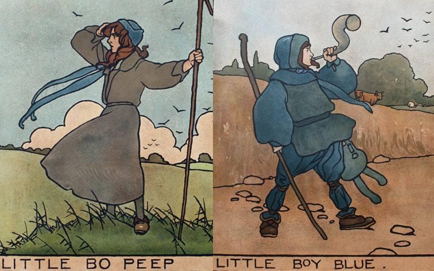 Little Boy Blue Little Bo Peep