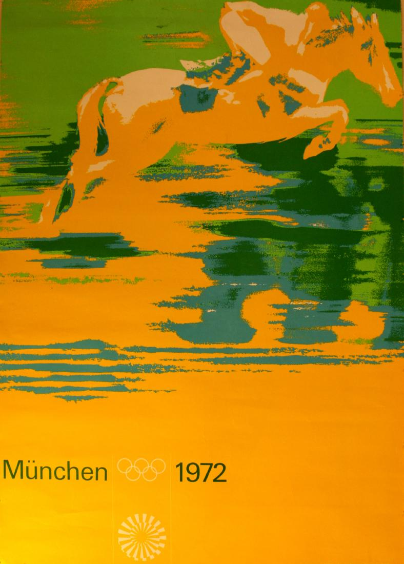 Munich Olympics Horse