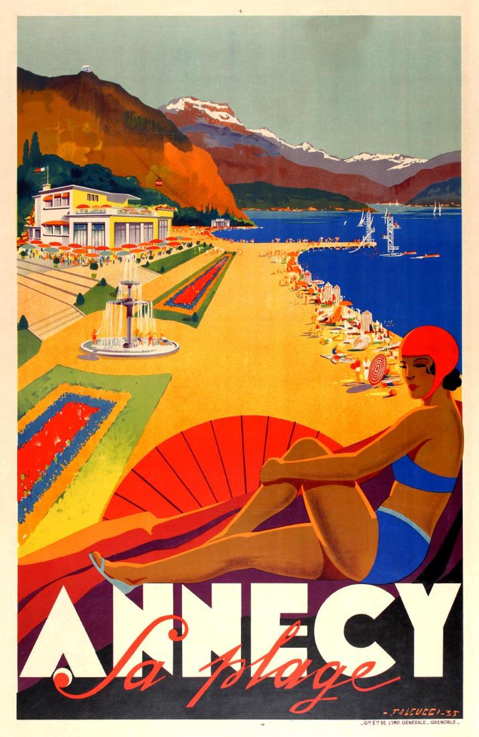 Annecy Falcucci Art Deco