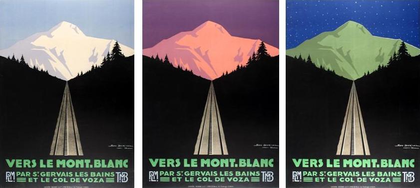 Mont Blanc Dorival Art Deco x3