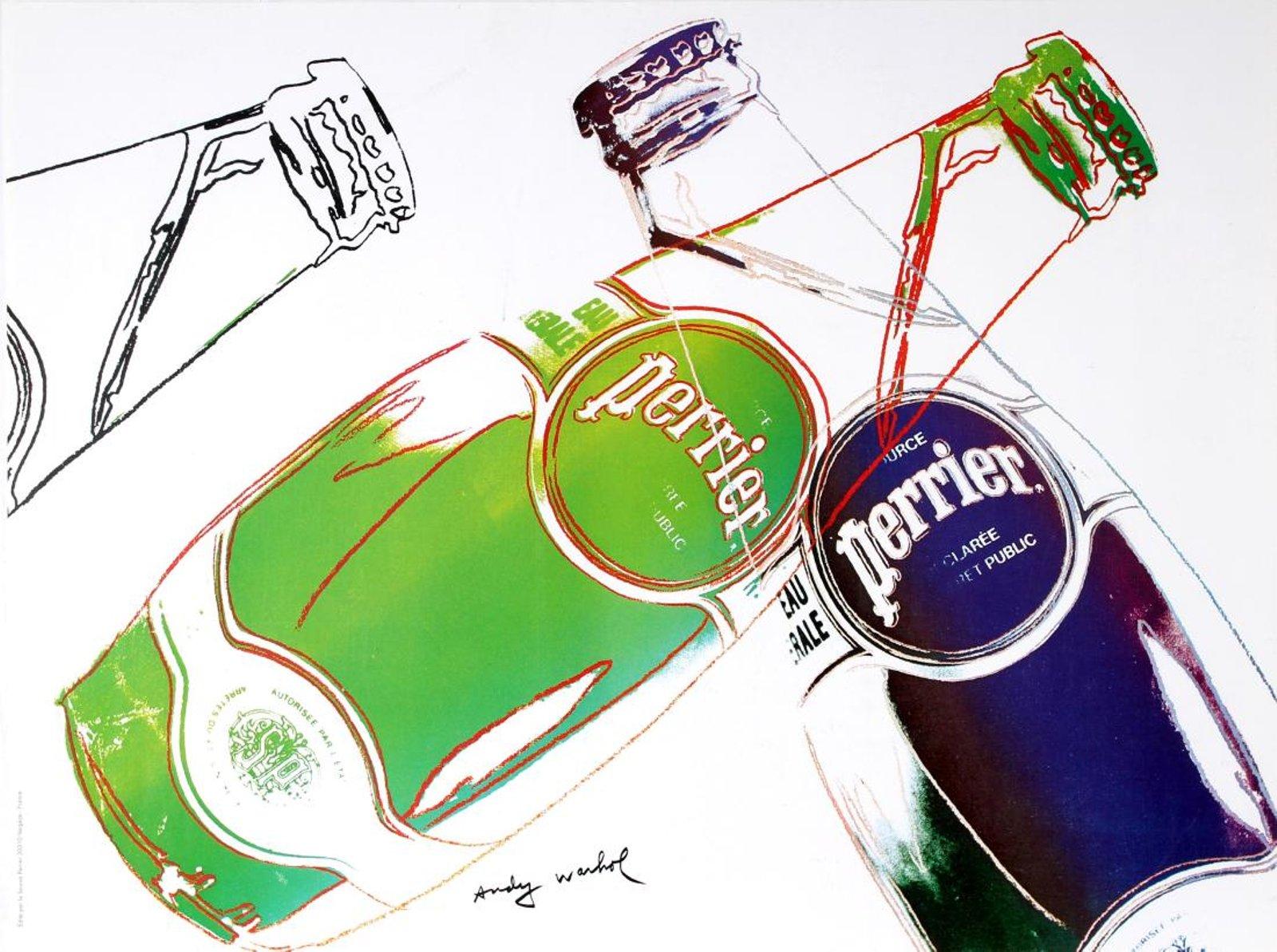 Perrier Andy Warhol