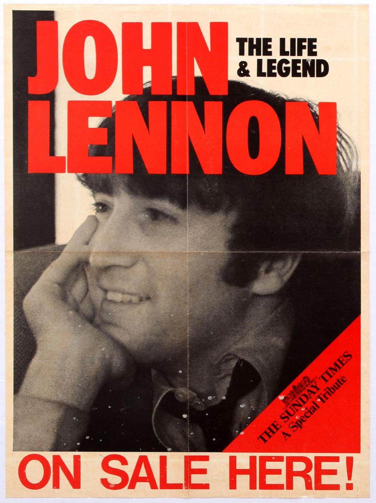 Sunday Times John Lennon Beatles