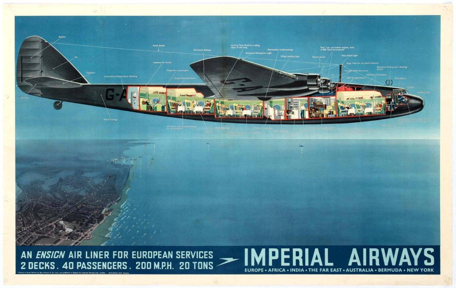 h Imperial Airways Ensign