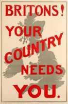 4 BritonsYourCountryNeedsYou WWI