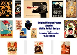 AntikBar Poster Auction 3pm 10November