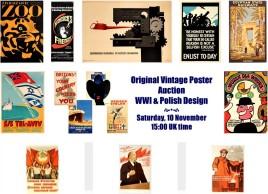 AntikBar Poster Auction 3pm 10November