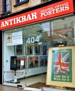 AntikBar WWI Poster Exhibition gallery