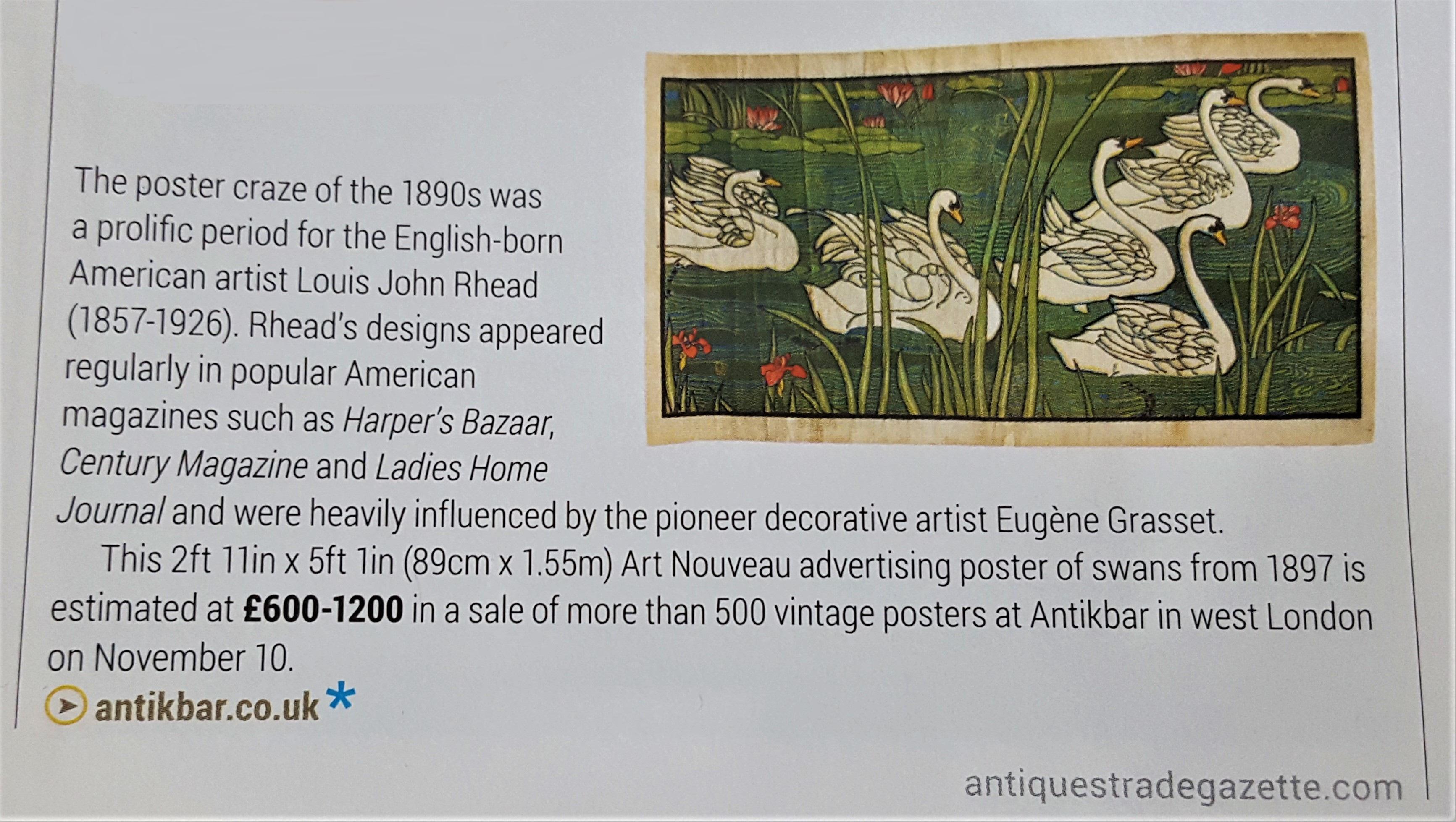 ATG AntikBar Poster Auction 10November2018