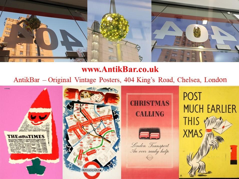 AntikBar KingsRoad Chelsea London XmasLights2018