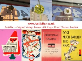 AntikBar KingsRoad Chelsea London XmasLights2018