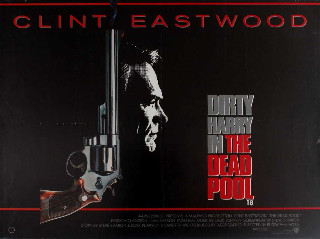 3 dirty harry set of 3 clint eastwood posters