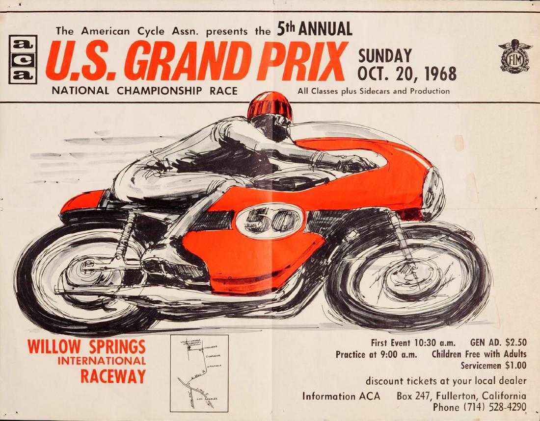6 usa motorcycle grand prix