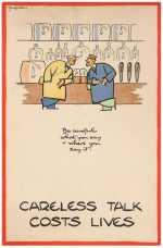 16 a Fougasse CarelessTalk WWII