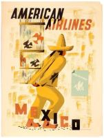 American Airlines Mexico Edward McKnight Kauffer
