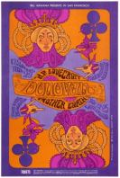Donovan Fillmore Bill Graham Concert Psychedelic Music Poster
