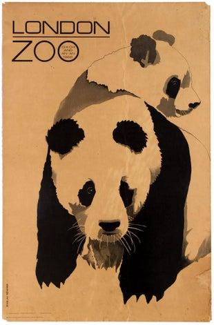 London Zoo Panda Chi Chi An An WWF