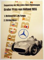 Mercedes Benz Holland 1955 Grand Prix Fangio Stirling Moss