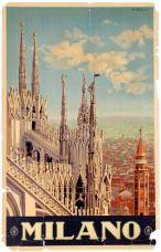 Milano ENIT AntikBar Poster Auction