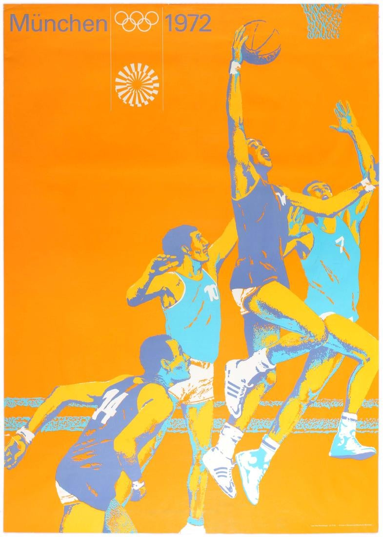 Munich Summer Olympics 1971 Basketball