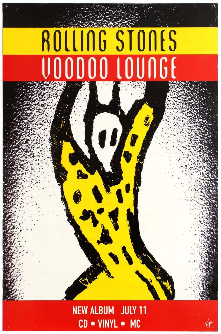 Rolling Stones Voodoo Lounge Music Album