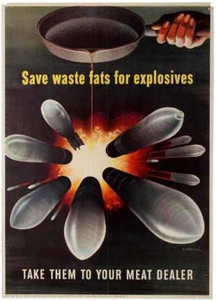 Save Waste Fats WWII USA