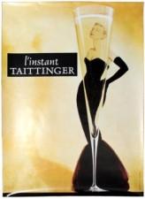 11 ChampagneTaittinger GraceKellyDesign AntikBar VintagePoster Auction