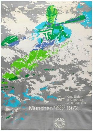 13 MunichOlympics AntikBar VintagePoster Auction