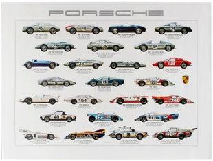 15 Porsche AntikBar VintagePoster Auction