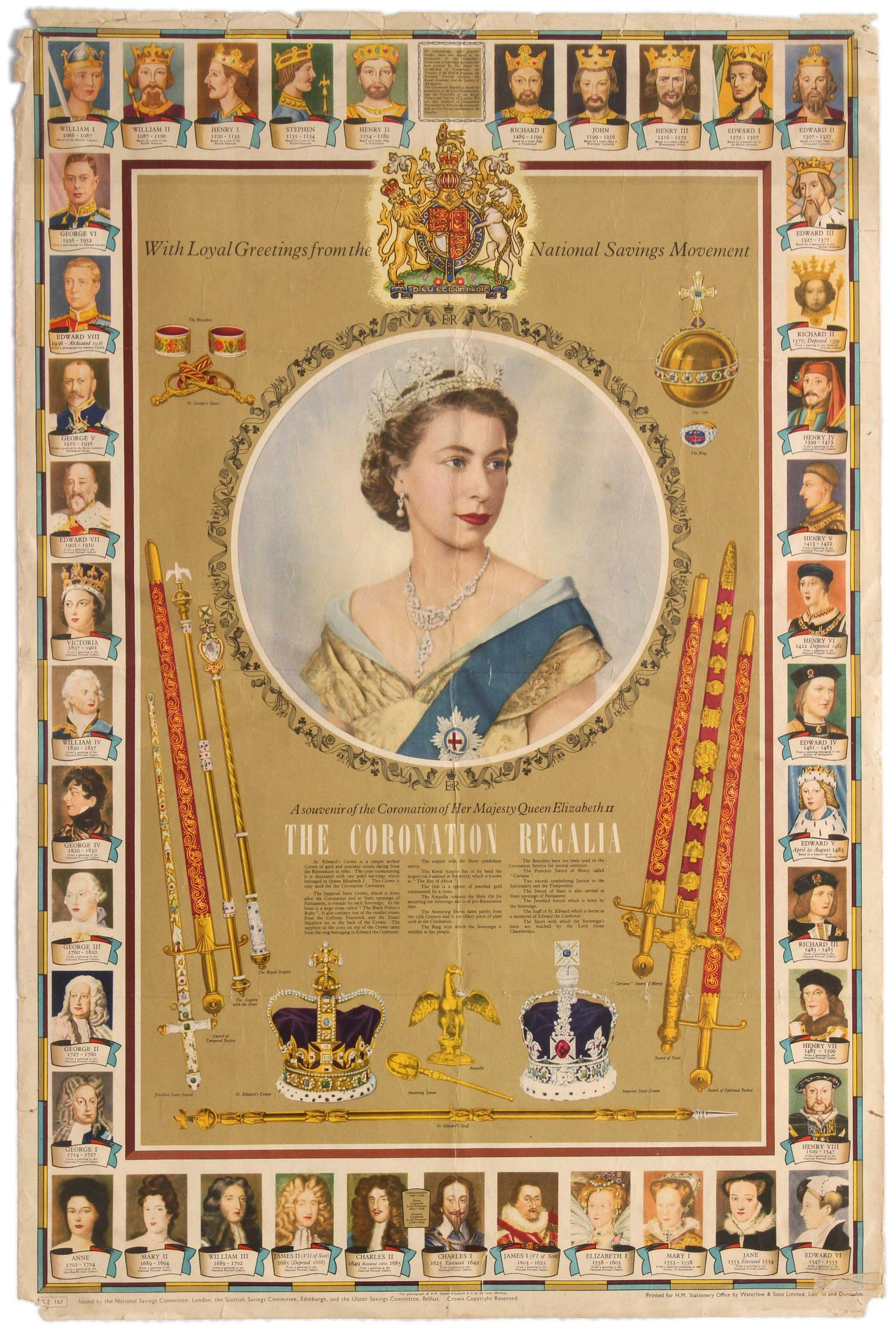12 Queen Elizabeth Coronation