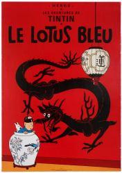 13 Tintin Blue Lotus