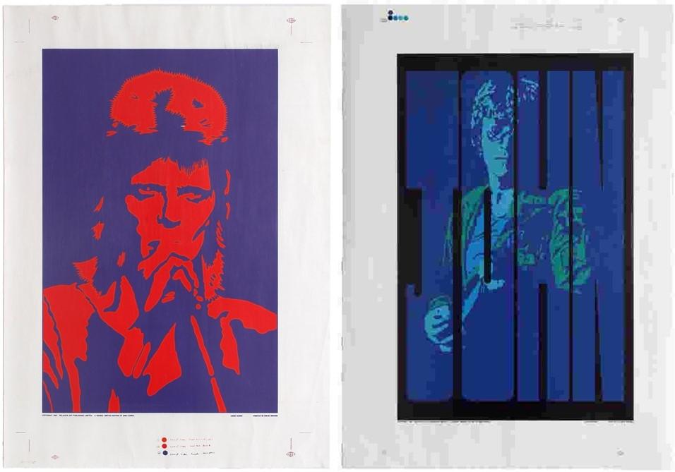 9 David Bowie John Lennon set