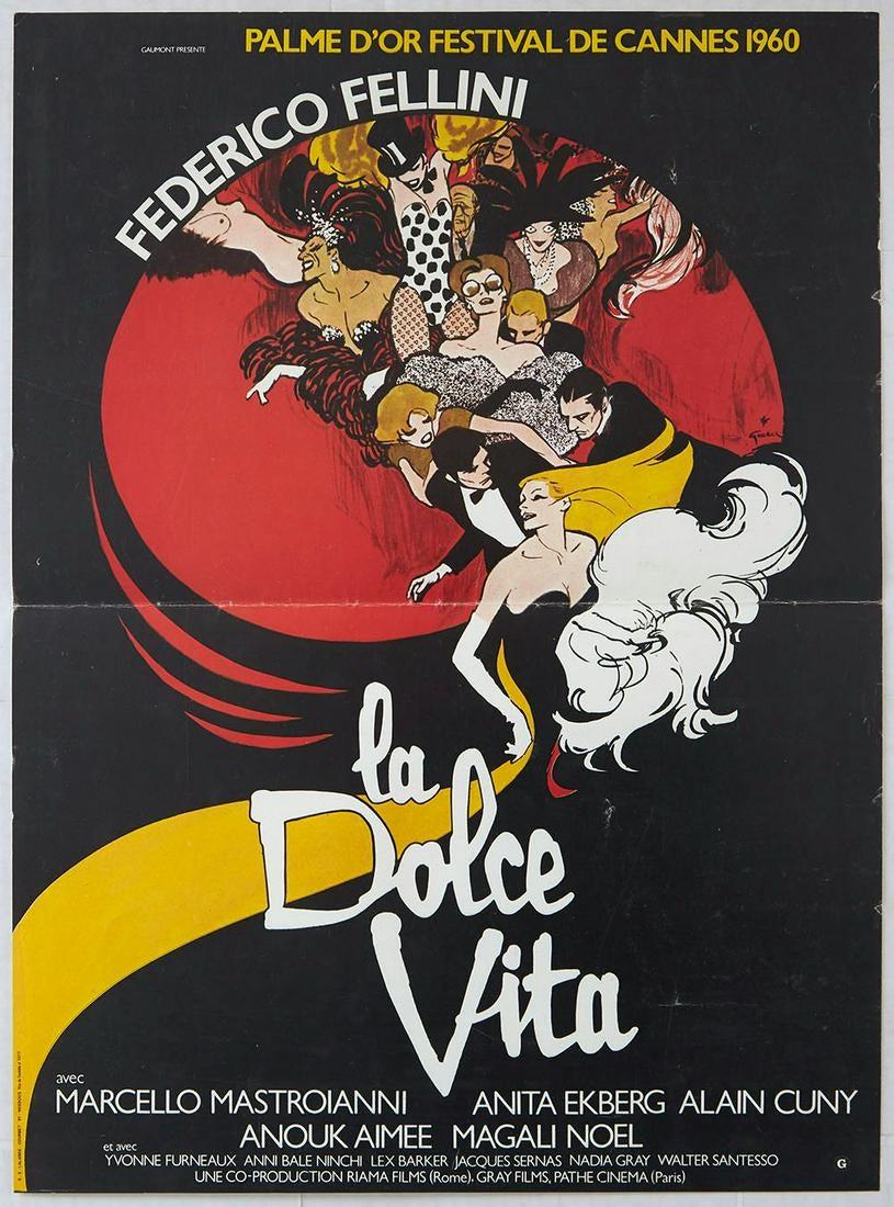 La Dolce Vita AntikBar Vintage Posters Auction 25April2020