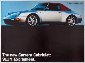 11 Porsche 911 Excitement AntikBar Vintage Posters Auction 25April2020