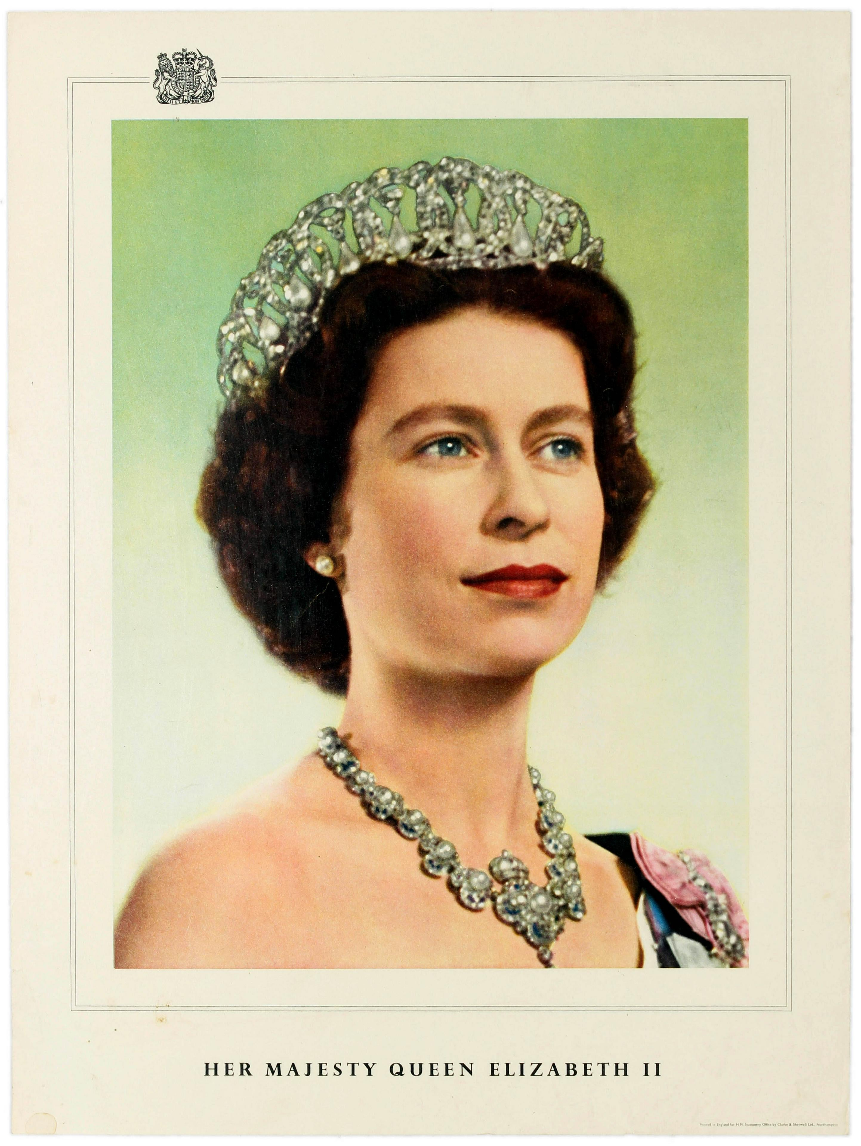 13 Queen Elizabeth II AntikBar Vintage Posters Auction 25April2020