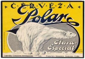 14 Polar Cerveza Cuba Havana AntikBar Vintage Posters Auction 25April2020