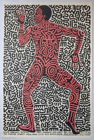 15 Keith Haring AntikBar Vintage Posters Auction 25April2020