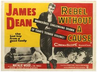 3 James Dean Rebel Without A Cause AntikBar Vintage Posters Auction 25April2020