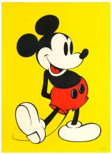 4 Mickey Mouse Walt Disney AntikBar Vintage Posters Auction 25April2020
