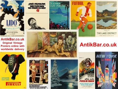 AntikBar Online NEW Original Vintage Posters