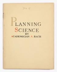 Planning Science