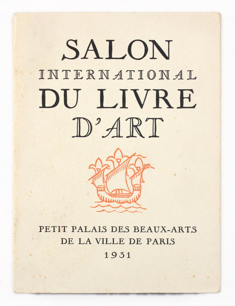 Salon International Du Livre D'Art International Art Book Fair 1931