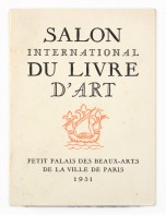 Salon International Du Livre D'Art International Art Book Fair 1931