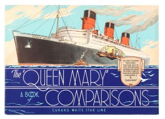 The Queen Mary a Book of Comparisons 1936