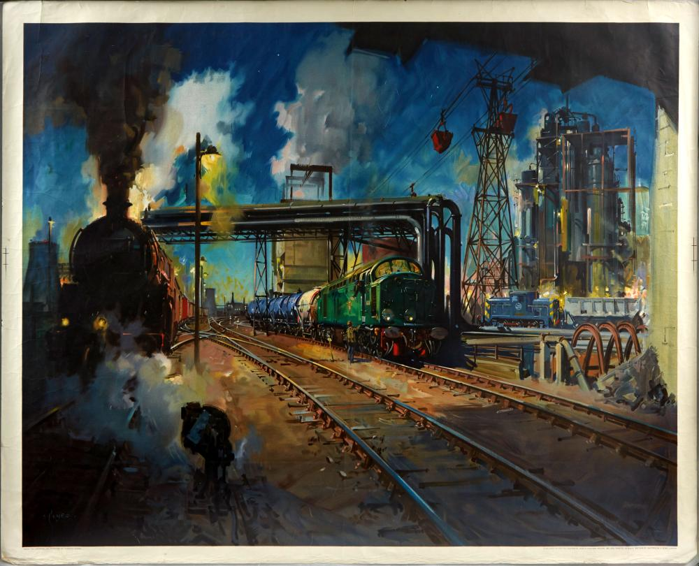 AntikBarAuction BritishRailways ServiceToIndustry TerenceCuneo 1August2020